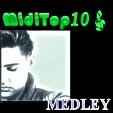 Arr. Medley Elvis Presley - MidiTop10