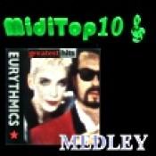 Arr. Medley Eurythmics - MidiTop10