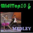 Arr. Medley Rock And Roll 1 - MidiTop10