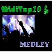 Arr. Medley Rock 1 - MidiTop10