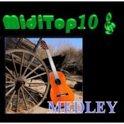 Arr. Medley Valse Country - MidiTop10